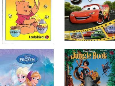 winnie the pooh & the honey tree,The Jungle Book.Frozen,Cars