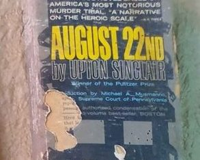 August 22nd By Upton Sinclair