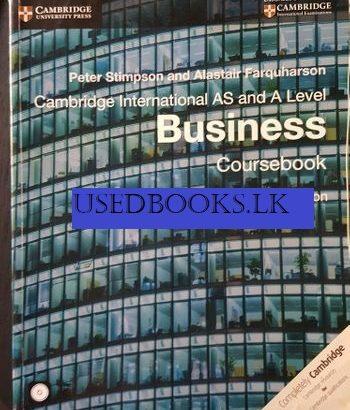 Business Course Book Cambridge