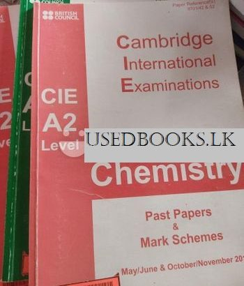 Chemistry Books CIE -AS and A level and IGCSE