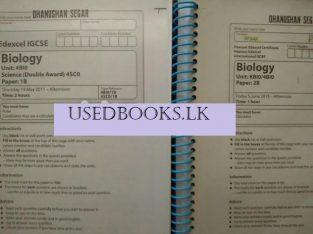 Edexcel OL IGCSE second hand Past Papers