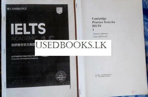 IELTS Cambridge Academic General Books Set