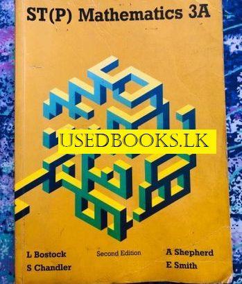 Mathematics ST(P) 3A Second Edition