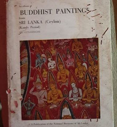 An Album Of Buddhist Paintings From Sri Lanka