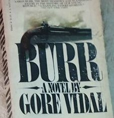 BURR a novel by gore vidal