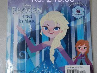 frozen elsas icy magic