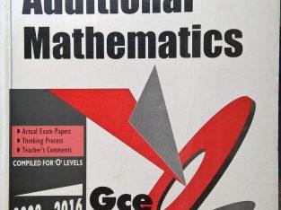 additional mathematics(GCEolevel) 2003-2016