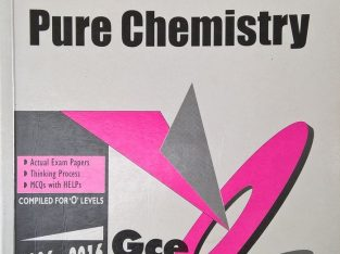 pure chemistry (gce olevel) 2006-2016