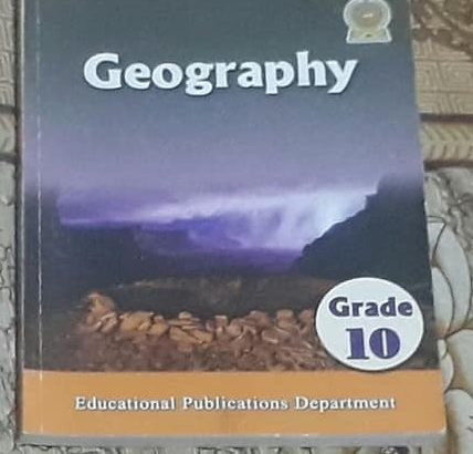 grade 10 geography