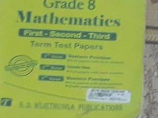 grade 8 maths term test papers