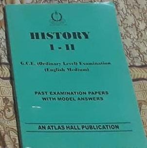 history i-ii GCE olevel english medium
