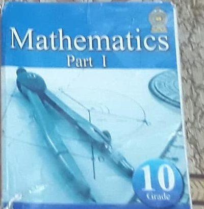 mathematics part i grade 10
