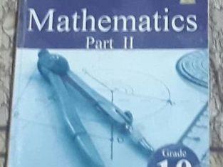 mathematics part ii grade 10