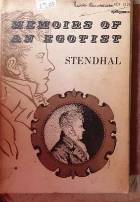 memoirs of egotist