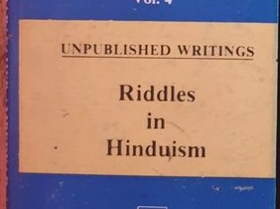 Riddles In Hinduism by Dr. Babasheb Ambedkar