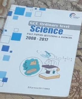 science 2008-2017 GCE Olevel