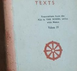 selected buddhist texts