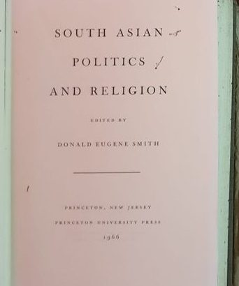 South Asian Politics And Religion