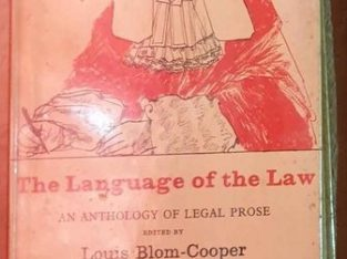 The Language Of The Law An Anthology Of Legal Prose