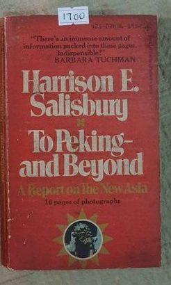 to peking and beyond-harrison e.salisbury