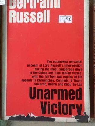 betrand russel-unarmed victory