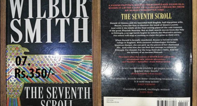 wilbur smith-the seventh scroll