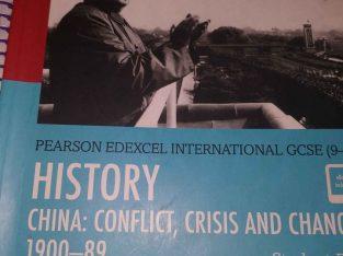history of china pearson edexcel IGCSE 9-1
