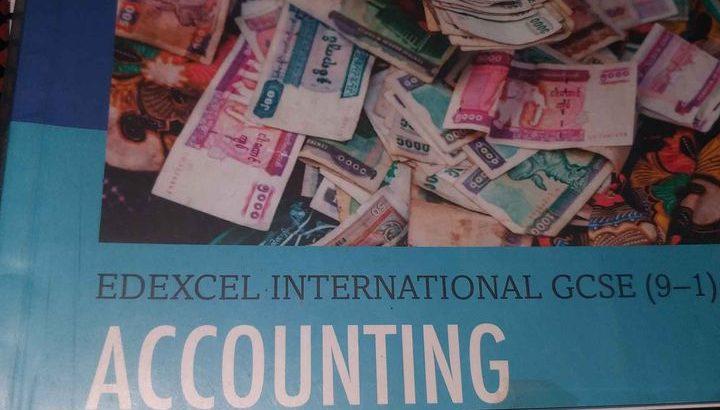 accounting edexcel igcse 9-1
