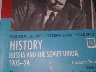 history of russia pearson edexel IGCSE 9-1