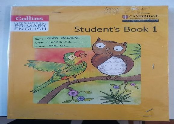 Grade 1 Cambridge Syllabus Text Books (Used in Ilma Int'l)