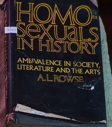 Homosexuals In History Ambivalence In Society Literature