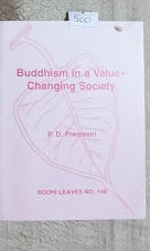 Buddhism in a value changing society