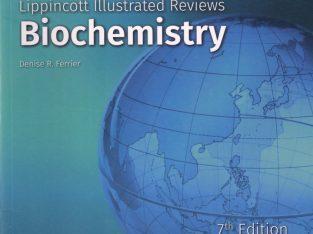 Lippincott Illustrated Reviews: Biochemistry 7th edition