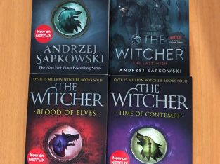 Witcher – First 4 books