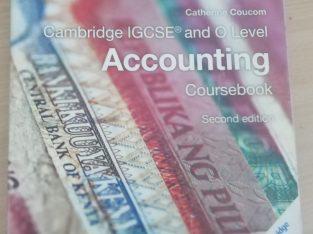 Cambridge OL Accounting Coursebook