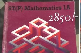 ST[P] Mathematics 1A