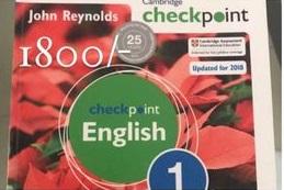 Checkpoint English 1