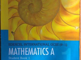 Edexcel International GCSE (9-1) Mathematics A Book 1