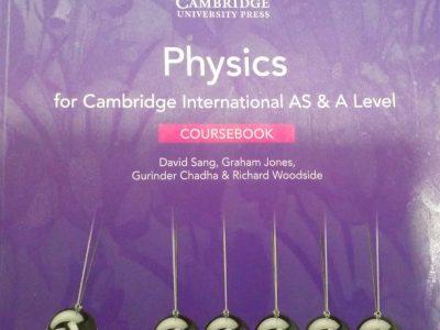 BRAND NEW CAMBRIDGE LONDON AL PHYSICS BOOK