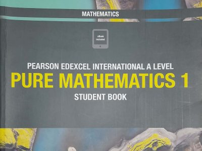 Pearson Edexcel International As Level Pure Mathematics 1