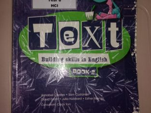 Text Building Skills In English – Book 2